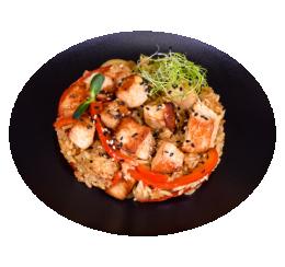 Рис зі свининою по-тайськи