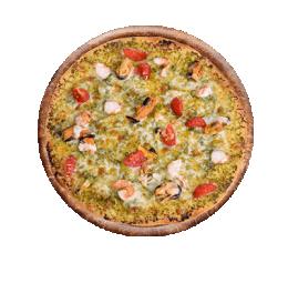 Піццоні з морепродуктами
